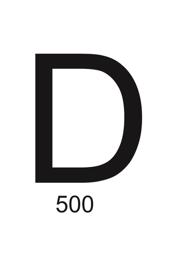 500 em algarismo romano