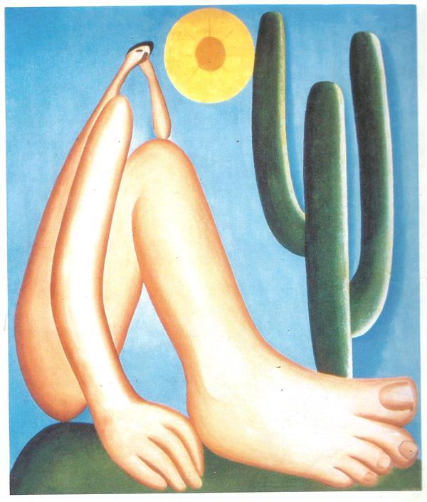 quadro de Obras de Tarsila do Amaral