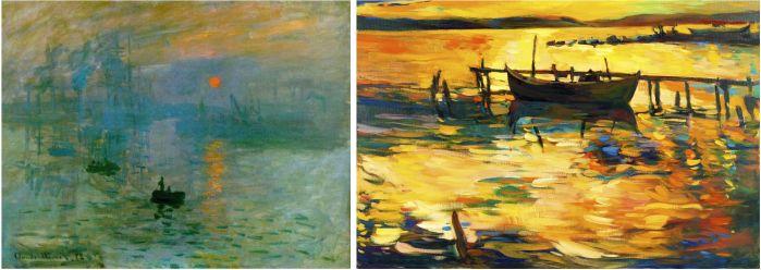 obra impressionismo