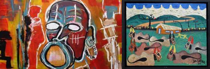 artistas primitivismo