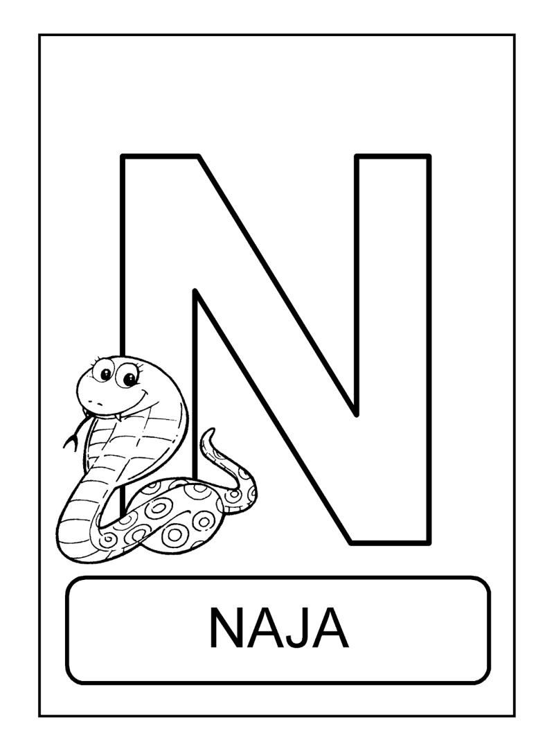 animal com n Naja