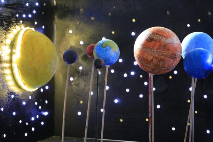 Maquete do Sistema Solar