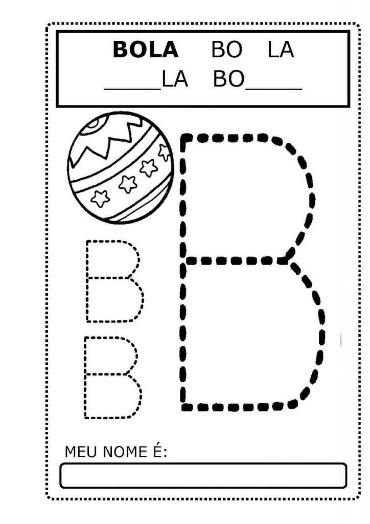 atividades com b