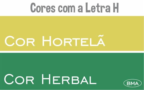 Cor com H