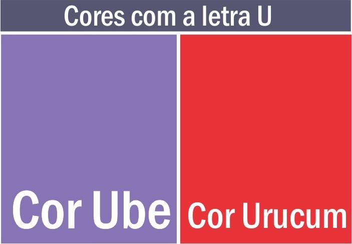 cores com u