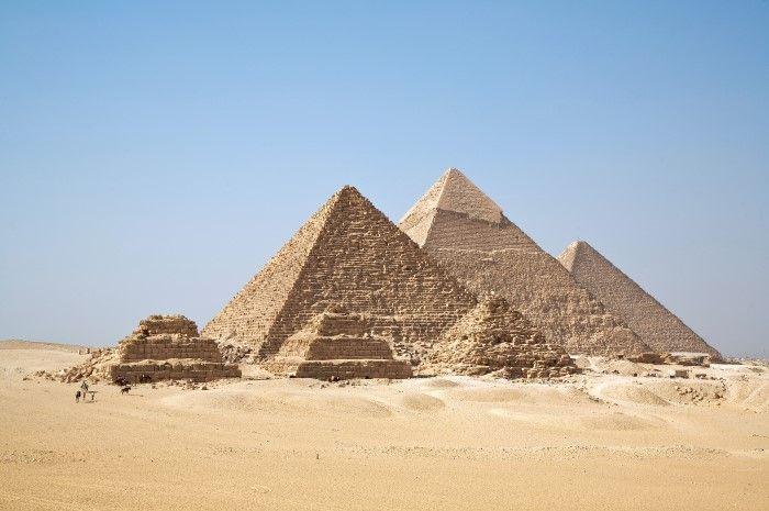 piramides antigas do egito
