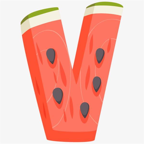 Fruta que começa com v