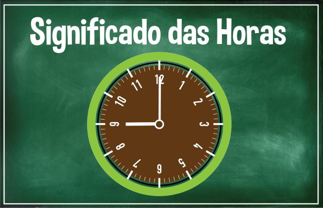 significado das horas