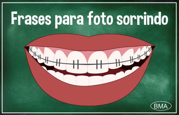 frases para foto sorrindo