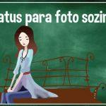 status com foto