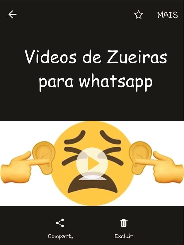 video de zueira do whatsapp