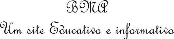 Letra cursiva BMA