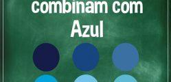 cores que combinam com azul