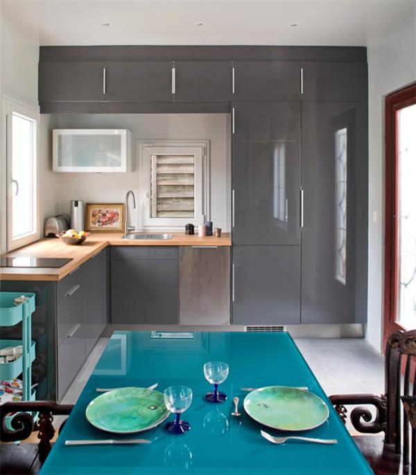 cozinha-cinza-e-turquesa