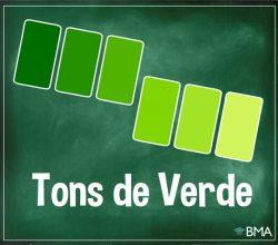tons de verde