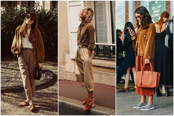 moda marrom