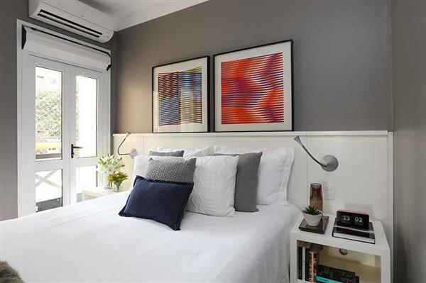 cores-para-quarto-de-casal-parede-cinza