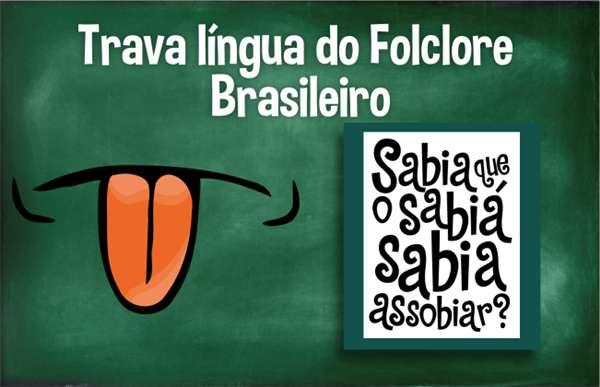 trava lingua do folclore brasileiro