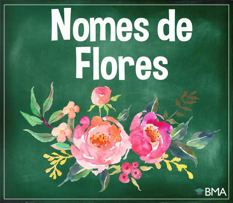 nomes de flores